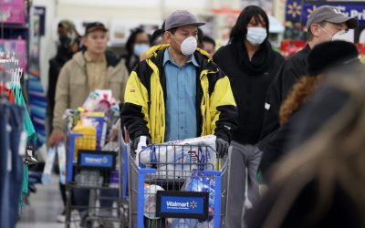 Walmart is considering testing its employees for the novel coronavirus and COVID-19 antibodies
