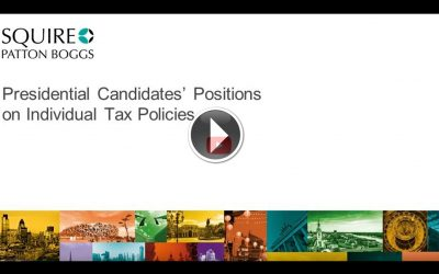 VIDEO: Election 2020: Presidential Candidates' Positions on Individual Tax Policies